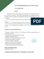 Criterios  Ev Extremadura 2018