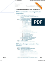3. Model Selection and Evaluation — Scikit-learn 0.19