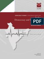 India - Democracy and Corruption