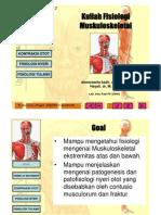 Kuliah Fisiologi Muskuloskeletal PBL