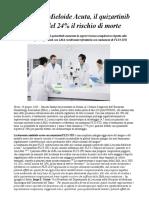Quizartinib Riduce Del 24% Il Rischio Di Morte Nei Pazienti Con LMA