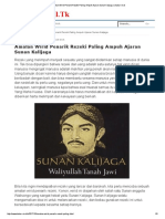 Amalan Wirid Penarik Rezeki Paling Ampuh Ajaran Sunan Kalijaga _ Kabar-Viral
