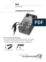 FlightCom IIsx Manual