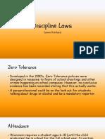 discipline laws
