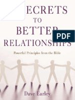14 Secrets to Better Relationships