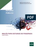 Inglés Para Estudios de Posgrado