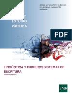 Lingüística y Primeros Sistemas de Escritura