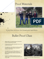 Bullet Proofing Glass