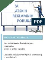 Analiza Hrvatskih Reklamnih Poruka