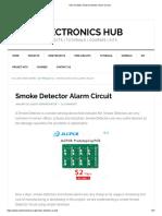 How to MakeSmoke Detector Alarm Circuitt