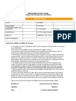BSES Consumer Application Form