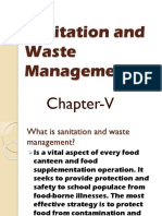 Sanitation & Waste Mgt. 1