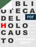 Catálogo 2017 de La Biblioteca Del Holocauto