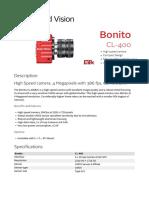 Bonito DataSheet CL-400 V3.1.0 En