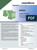 Masibus 9000C R1F 1116 Signal Isolator