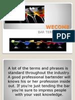 Bar Terminology