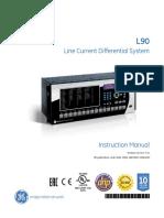 ge l90 relay relay manufactured goods rh scribd com  ge multilin l90 relay manual