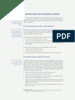 European Debt Relief Benefits Greece