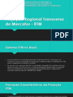UTM e RTM - Sistemas