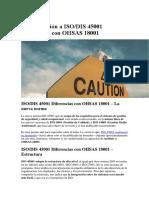 Aproximación a ISO 45001