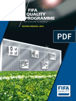 Goal-line Technology Testing Manual 2014