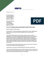 November 2 Public Records Letter