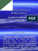 Protezelor Partiale