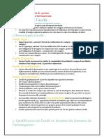 Typologie de l'Audit