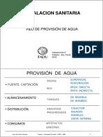 Teorica 1. Sanitarias Provisión (2018) i2 Famá