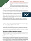 La Planeación Financiera Como Herramienta de Gestión