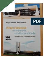 Sérgio Antônio Ferreira Victor - Diálogo Institucional e Controle de Constitucionalidade