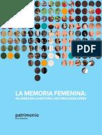 La Memoria Femenina Publicacion Electronica