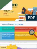 Pesquisa Fenapro Perfil de Agências