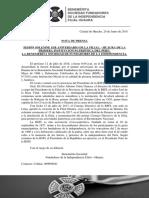 Nota de Prensa 1er Aniversario Filial Bsfi