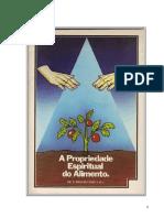 A Propriedade Espiritual Do Alimento.