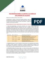 2001010-2 701-6 Recomendaciones Galvanizado