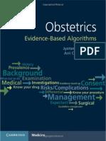 Obstetrics Evidence-Based Algorithms, 2016