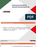 Evaluación de Desempeño Directivos IE