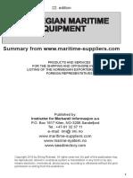 Norwegian Maritime-Equipment 2016