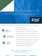 SQL Server 2017 and Windows Server 2016 Gated Asset
