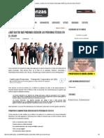 PractiFinanzas ¿Cuáles Son Los Gastos Deducibles 2018 Para Las Personas Físicas