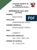 Caratulas de Licencias