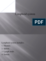 1. Lymphoid System