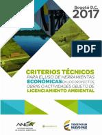 Cartilla Criterios Tecnicos Para El Uso de Herramientas Economicas ANLA - Minambiente