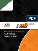 MANUAL DE INSTRUÇÃO E CATÁLOGO DE PEÇAS PLATAFORMA DE COLHEITA DE MILHO.pdf