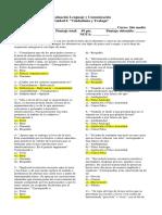 Evaluación Lenguaje y Comunicación 2do medio 2