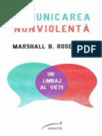 Comunicarea Nonviolenta - Marshall B. Rosenberg