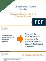 Hacia Una Educación Superior Inclusiva