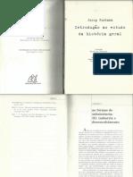 Fontana Josep Introd Ao Est Da Hist Geral Cap 5 Parte 1