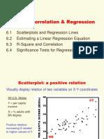 Chapter 6 Bivariate Regression & Correlation